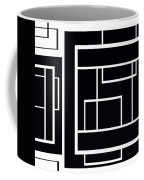 Black And White Art - 153 Coffee Mug