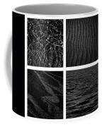 Black And White Beach Coffee Mug
