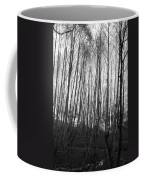 Black And White Birch Stand Coffee Mug