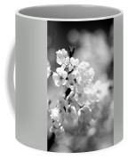 Black And White Blossoms Coffee Mug