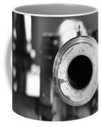Black And White Cannon Coffee Mug