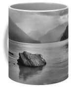 Black And White Cheakamus Lake Coffee Mug