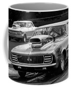 Black And White Chevy Camaro Ss Hotrod Coffee Mug