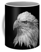 Black And White Eagle Coffee Mug