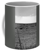 Black And White Fence  Coffee Mug