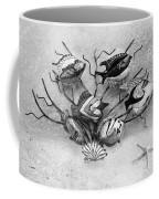 Black And White Fish 1  Coffee Mug