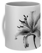 Black And White Lily Coffee Mug