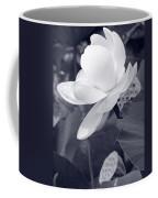 Black And White Lotus Coffee Mug