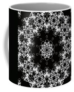 Black And White Medallion 1 Coffee Mug