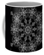 Black And White Medallion 11 Coffee Mug