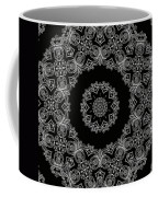 Black And White Medallion 6 Coffee Mug