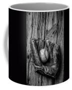 Black And White Mitt Coffee Mug