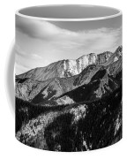 Black And White Mountains Coffee Mug