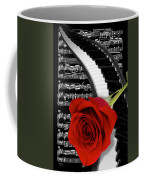 Black And White Music Collage Coffee Mug