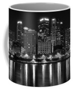 Black And White Night In Pa Coffee Mug