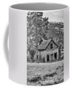 Black And White Old Merritt Farmhouse Coffee Mug