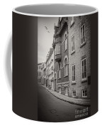 Black And White Old Style Photo Of Old Quebec City Coffee Mug