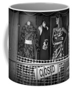 Black And White Outdoor Clothing Display Coffee Mug