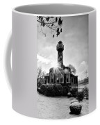 Black And White Philadelphia - Turtle Rock Lighthouse Coffee Mug