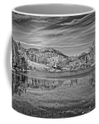 Black And White Photo Of Long Pond Acadia National Park Maine Coffee Mug