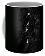 Black And White Quad Ghost Orchid Coffee Mug