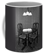 Black And White Sitting Table Coffee Mug