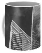 Black And White Skyscrapers Coffee Mug