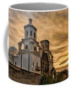 Black And White Sunrise Over Mission Coffee Mug