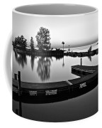 Black And White Sunset Coffee Mug