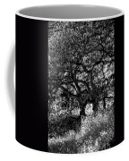 Black And White Trees Coffee Mug