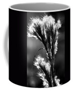 Black And White Vegetation In The Dunes Coffee Mug