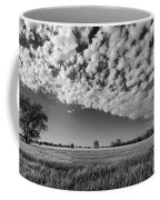 Black And White Wheat Field Coffee Mug