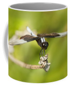 Black And White Widow Skimmer Coffee Mug