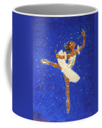Black Ballerina Coffee Mug