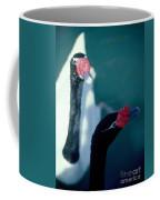 Black Beaked Swans Coffee Mug