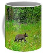 Black Bear Along Yellowhead Highway-bc Coffee Mug