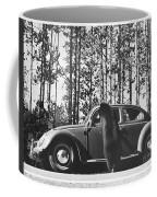 Black Bear Begging Coffee Mug
