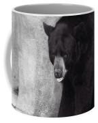 Black Bear Pose Coffee Mug