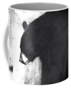 Black Bear Profile Coffee Mug