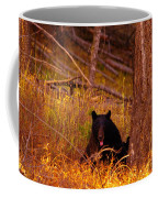Black Bear Sticking Out Her Tongue  Coffee Mug