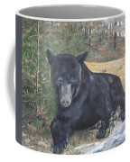 Black Bear - Wildlife Art -scruffy Coffee Mug