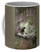Black Bird In Forgotten Graveyard Coffee Mug