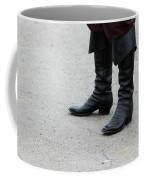 Black Boots Coffee Mug