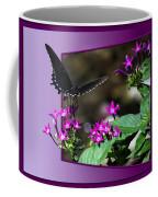 Black Butterfly 07 Coffee Mug