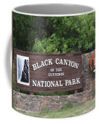 Black Canyon Of The Gunnison National Park Coffee Mug