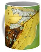 Black Cherry Leaf Coffee Mug