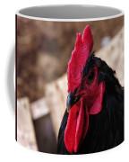 Black Cochin Rooster Coffee Mug