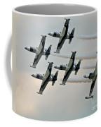 Black Diamonds Passing Coffee Mug