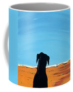 Black Dog In Chestertown, 1998 Coffee Mug