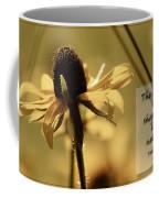 Black-eyed Susan  Psalm Coffee Mug